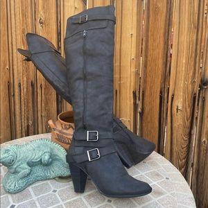 Over The Knee High Heels Boots